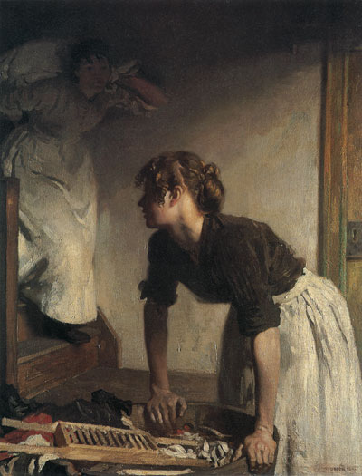 The Wash House, William Orpen