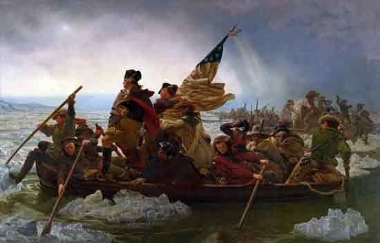 Washington Crossing the Delaware, Leutze (22X34.7)
