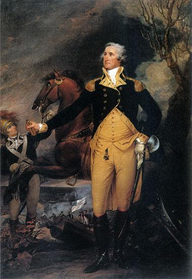 George Washington Before the Battle of Trenton, John TrumbullTopham