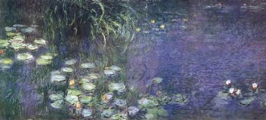 Water Lilies, Monet (22X48)