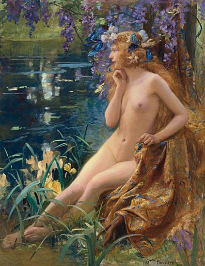Water Nymph,Gaston Bussiere