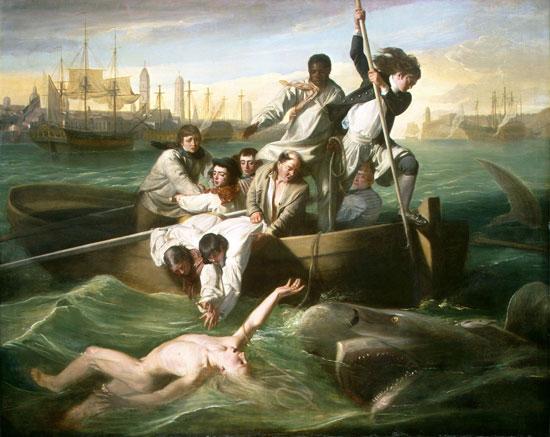 Watson and the Shark, John Singleton Copley (22X26.6)