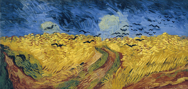 Wheat Field with Crows,Vincent van Gogh