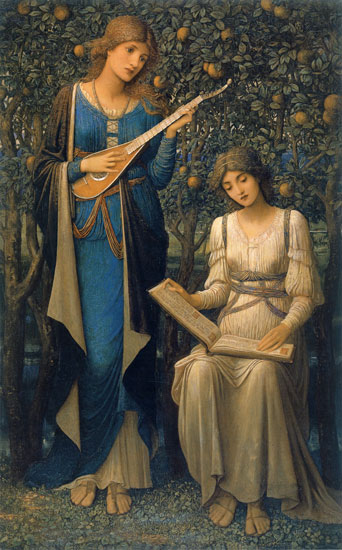 When Apples were Golden, Strudwick(16X25.75