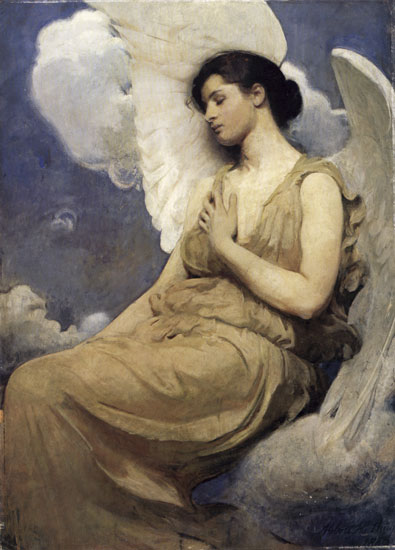 Winged Figure, Thayer (18X25)