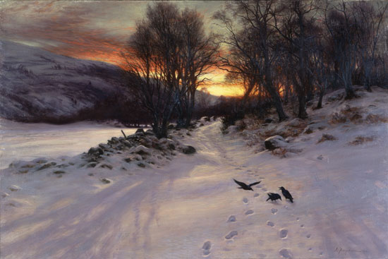 A Winter's Morning, Joseph Farquharson