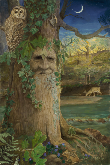 Wise Old Oak, Joyce Gibson (16X24)