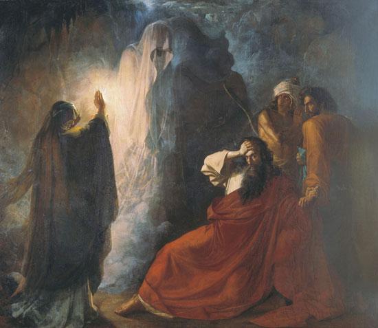 Witch of Endor, Dmitri Nikiforovich Martynov (19X22)
