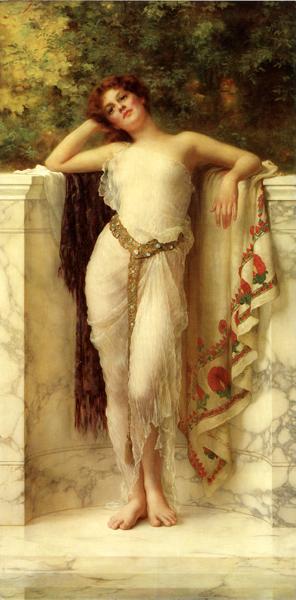 A Classical Beauty, William Clark Wontner (20X40)
