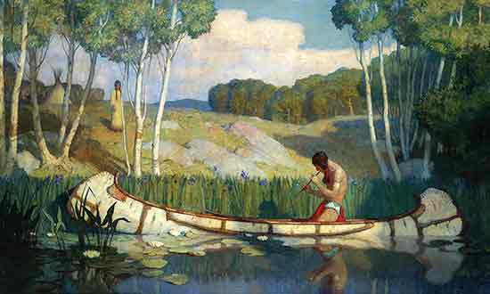 Indian Love Call, N. C. Wyeth