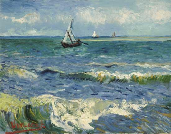Saintes Maries de la Mer, van Gogh (11x14)