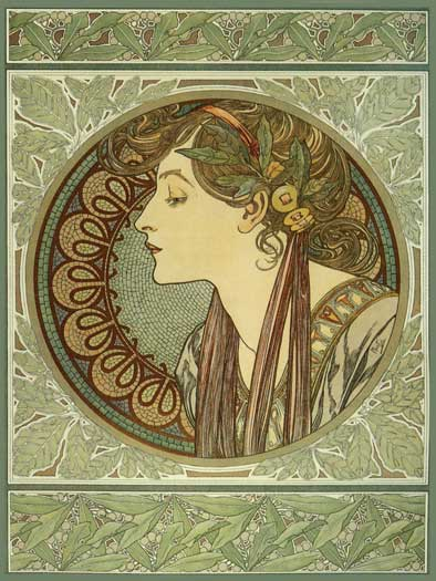 Laurel, Mucha (16X21.5)