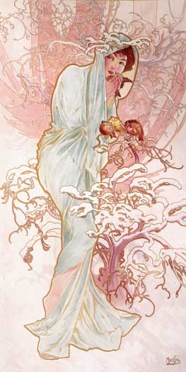 Winter, Mucha(10X20)