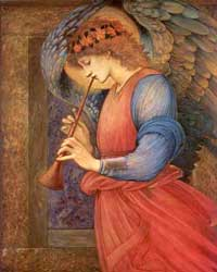 Angel, Burne-Jones (16X20)