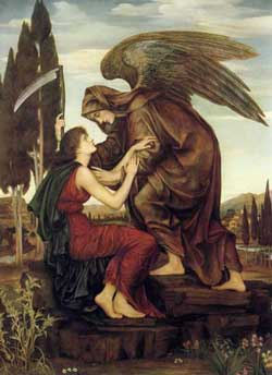Angel of Death, Evelyn De Morgan