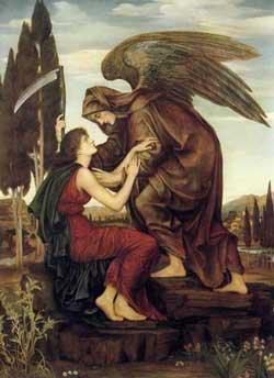 Angel of Death, deMorgan (20X27.5)