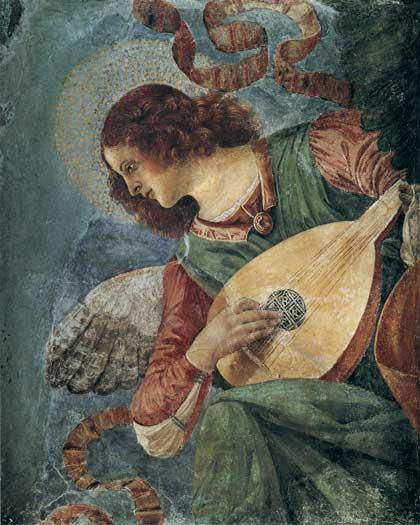 Angel Musician,Forli (16X20)