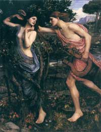Apollo and Daphne, John William Waterhouse