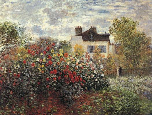 Argenteuil Garden, Monet (20X26)