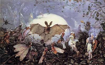 Fairy Hordes Attacking a Bat, Fitzgerald