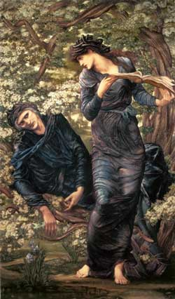 The Beguiling of Merlin, Edward Burne-Jones
