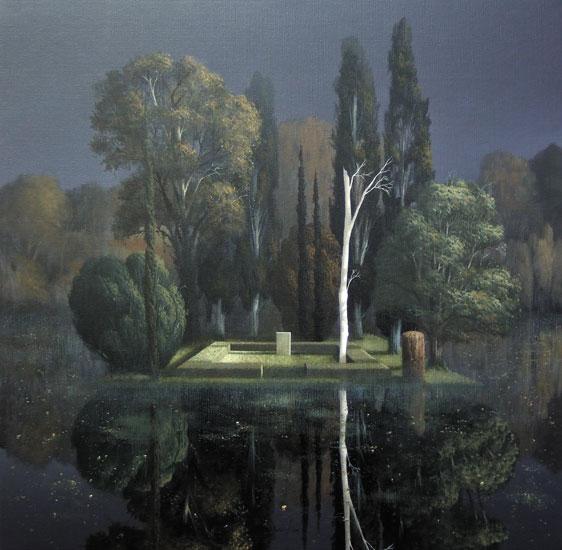 Tombstone, Arnold Bocklin