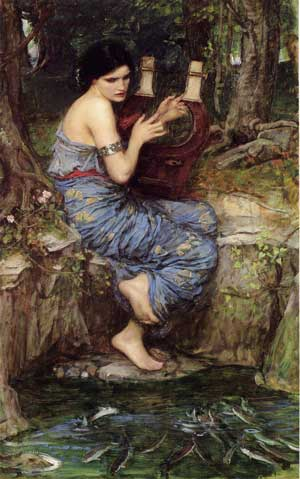 The Charmer, Waterhouse  (16X25.5)