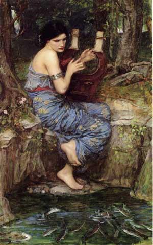 The Charmer, John William Waterhouse