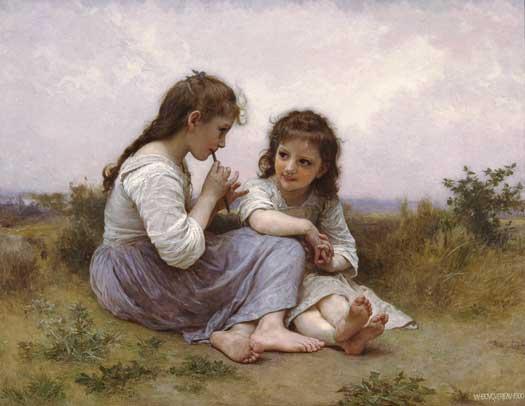 Childhood Idyll  William-Adolphe Bouguereau