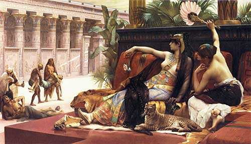 Cleopatra Testing Poisons on Criminals, Cabanel (16X28)