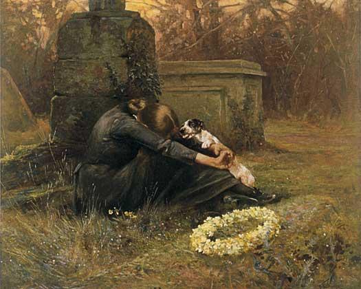 A Comforting Friend, Arthur Wardle