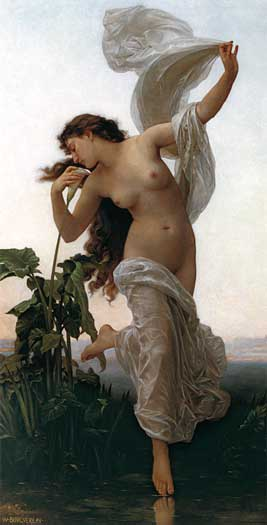 Dawn, William-Adolphe Bouguereau