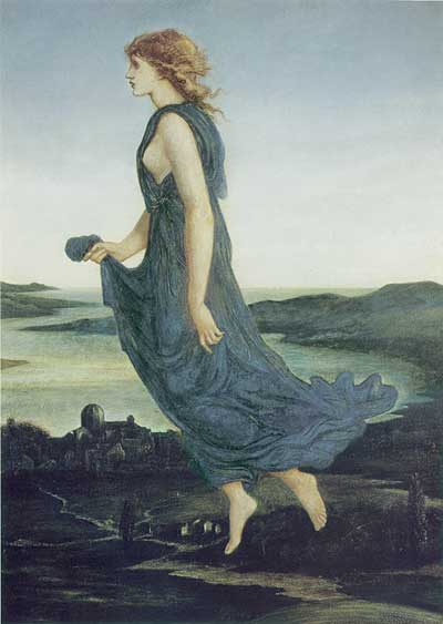 The Evening Star, Burne-Jones   (16X23)
