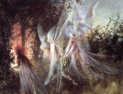 Fairies Looking Through and Open Window, Fitzgerald