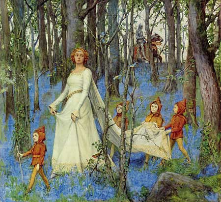 The Fairy Woods, Henry Meynell Rheam