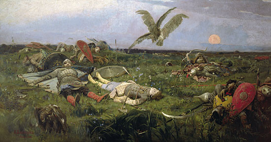 The Field of Battle, Victor Mikhailovich Vasnetsov