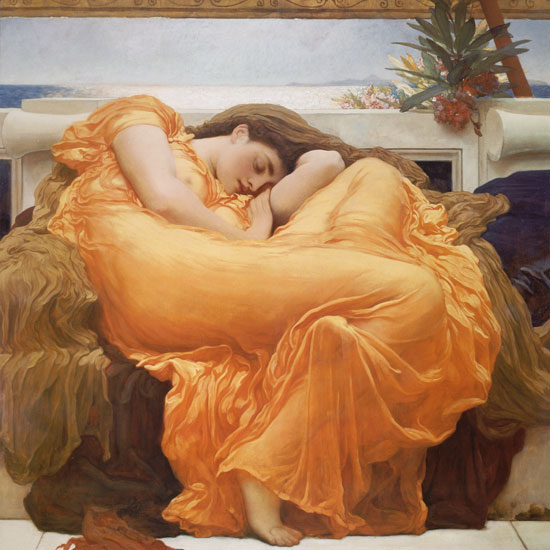Flaming June, Fredrick Leighton (32X32)