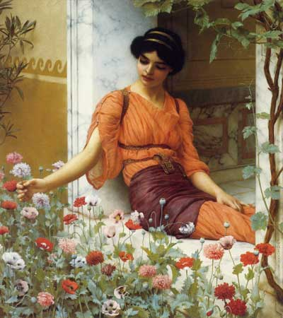 Summer Flowers, Godward (20X22.5)
