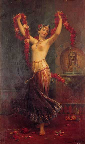 The Harem Dancer, Hans Zatzka