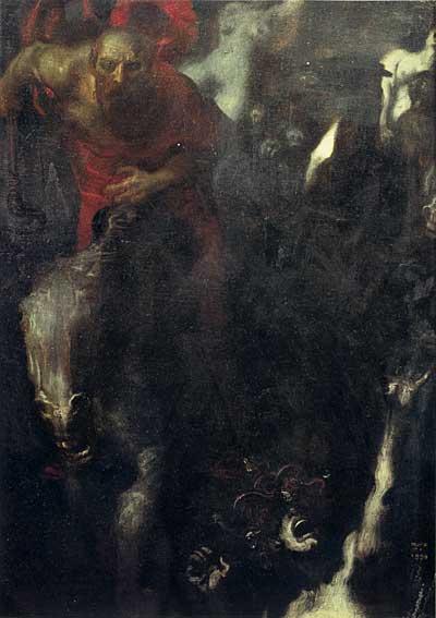 The Wild Hunt, von Stuck (16X23)