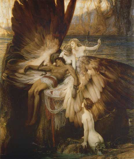 The Lament for Icarus, Herbert James Draper