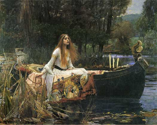 Lady of Shalott, Waterhouse  (16X20)