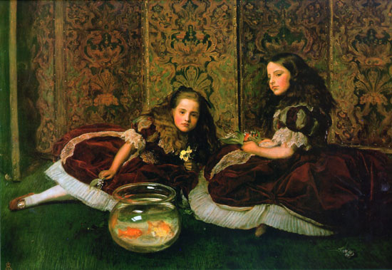 Leisure Hours, Sir John Everett Millais (22x32)