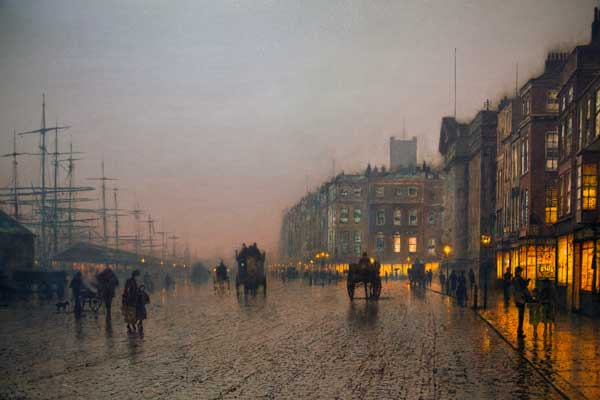 Liverpool from Wapping John Atkinson Grimshaw