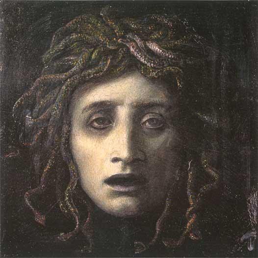 Medusa, Bocklin (16X16)