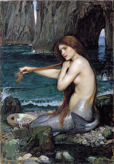 A  Mermaid, John William Waterhouse