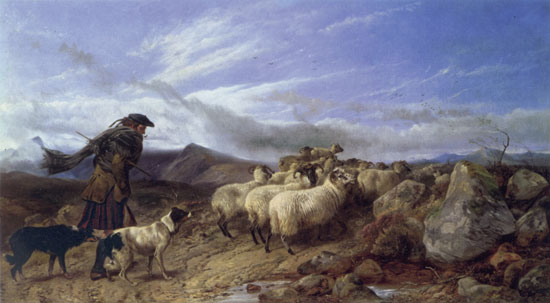 Crossing The Moor, Richard Ansdell