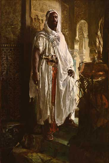 Moorish Chief , Charlemont (16X24)