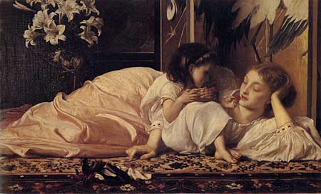 Mother & Child, Fredrick Leighton