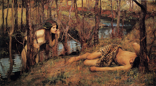 A Naiad, John William Waterhouse